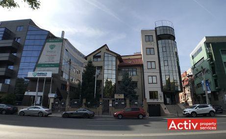 Nicolae Caramfil 77 spatii de birouri Bucuresti nord imagine frontala