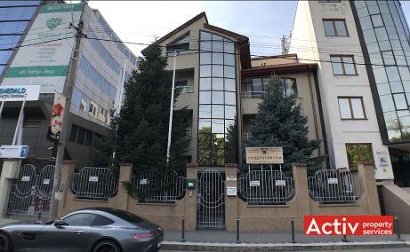 Nicolae Caramfil 77 inchiriere spatii de birouri Bucuresti nord poza acces cladire
