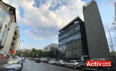 Clucerului 78-80 inchiriere spatii de birouri Bucuresti nord vedere cale de acces