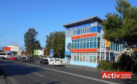 Auto Ovarom spatii de birouri de inchiriat Timisoara nord imagine cale de acces