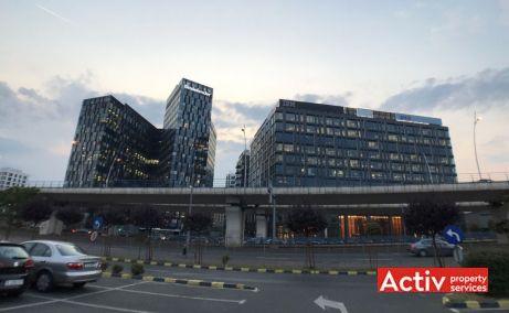 Orhideea Towers inchiriere spatii de birouri Bucuresti vest imagine bulevard