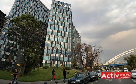 Orhideea Towers inchiriere spatii de birouri Bucuresti vest imagine laterala