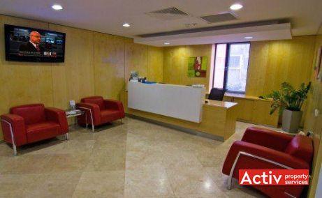Regus Rosetti (City Center) închiriere birouri centru fotografie recepție