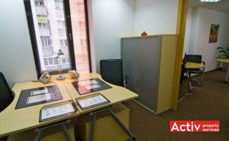 Birourile mobilate din incinta clădirii Bucharest City Centre îndeplinesc toate dotările clasificării A inclusiv internet de mare viteza