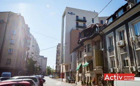 Regus Rosetti (City Center) birou de închiriat vedere din strada C.A.Rosetti