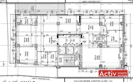Domus 2 inchiriere spatii de birouri Bucuresti central plan etaj