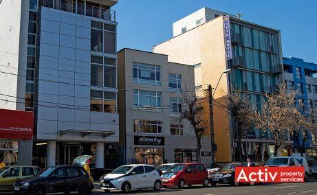 Nicolae Caramfil 61C spatiu de birouri de vanzare Bucuresti nord imagine frontala
