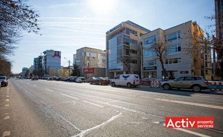 Nicolae Caramfil 61C spatiu de birouri de vanzare Bucuresti nord imagine bulevard