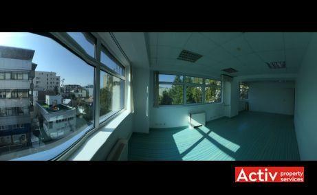 Nicolae Caramfil 61C birouri de vanzare Bucuresti nord imagine panorama birou