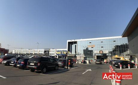 The Market spatii de birouri Bucuresti est poza acces cladire