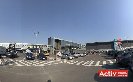 The Market spatii de birouri Bucuresti est imagine parcare