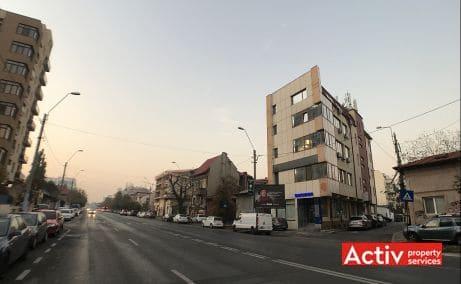 Plevnei 172 spatii de birouri de vanzare Bucuresti central imagine cale de acces