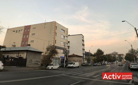 Plevnei 172 spatii de birouri de vanzare Bucuresti central imagine laterala