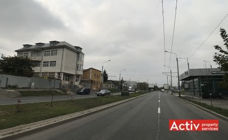 Bucurestii Noi 233B spatii de birouri de inchiriat Bucuresti vest imagine laterala