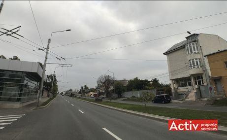Bucurestii Noi 233B spatii de birouri Bucuresti vest poza cale de acces