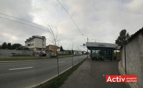 Bucurestii Noi 233B spatii de birouri de inchiriat Bucuresti vest poze cale de acces