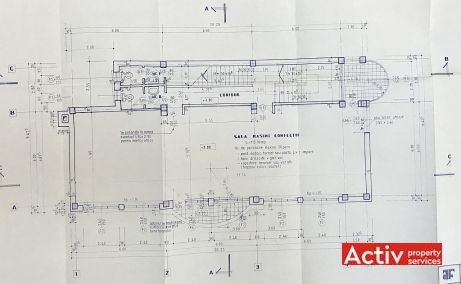 Bucurestii Noi 233B spatii de birouri de inchiriat Bucuresti vest plan etaj