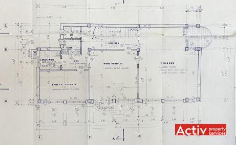 Bucurestii Noi 233B spatii de birouri Bucuresti vest plan etaj
