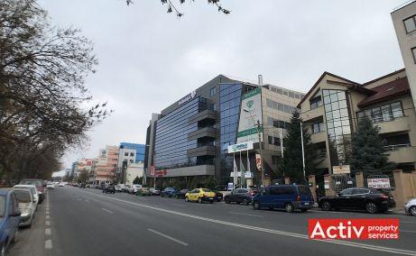 Nicolae Caramfil 75B birouri de inchiriat Bucuresti nord vedere cale de acces