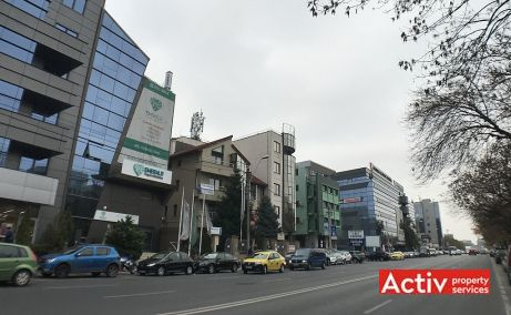 Nicolae Caramfil 75B inchiriere birouri Bucuresti nord poza laterala