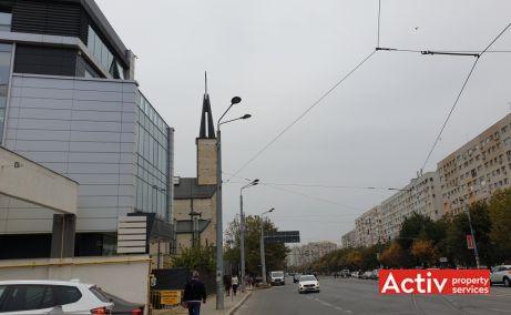 Mihai Bravu 255 spatii de birouri de inchiriat Bucuresti central poza acces cladire