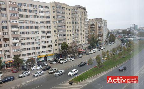 Mihai Bravu 255 spatii de birouri de inchiriat Bucuresti central vedere bulevard