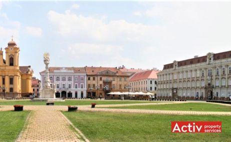 Unirii 13 spatii de birouri Timisoara central poza cale de acces