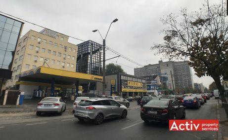 Matac 33-35 spatii de birouri de inchiriat Bucuresti nord vedere cale de acces