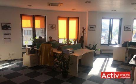 Calderon 57 spatii de birouri de inchiriat Bucuresti central vedere spatiu interior