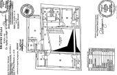 Hristache Pitaru 13-15 spatii de birouri Bucuresti nord plan etaj