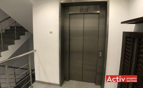 Dealul Spirii Business Center spatii de birouri de inchiriat Bucuresti vest imagine acces lift