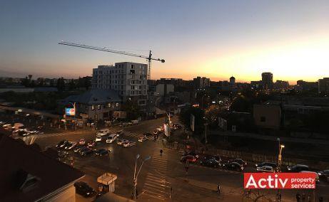 Dealul Spirii Business Center spatii de birouri de inchiriat Bucuresti vest imagine cadru nocturn