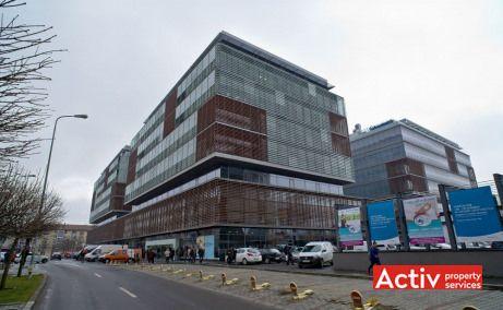 City Business Center spațiu de birouri Timișoara perspectivă încadrare în zonă