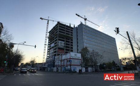 Eliade Tower inchiriere spatii de birouri Bucuresti nord poza cale de acces