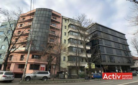 Maresal Averescu 15 spatii de inchiriat Bucuresti nord panorama cladire