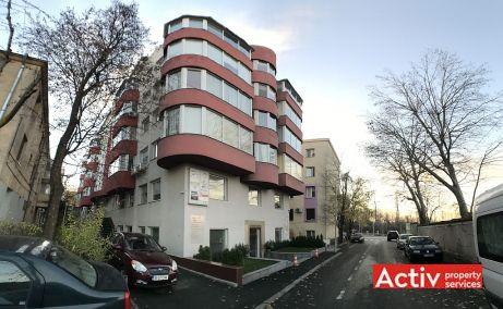 Strauss 2A spatii de birouri de inchiriat Bucuresti nord poza acces cladire