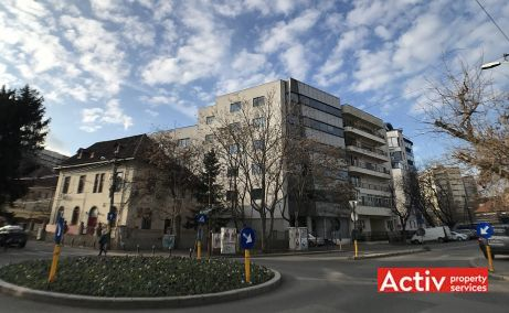 Clucerului 35 inchiriere spatii de birouri Bucuresti nord vedere cale de acces
