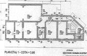 Constatin Noica 159 spatii de birouri de vanzare Bucuresti centru plan etaj