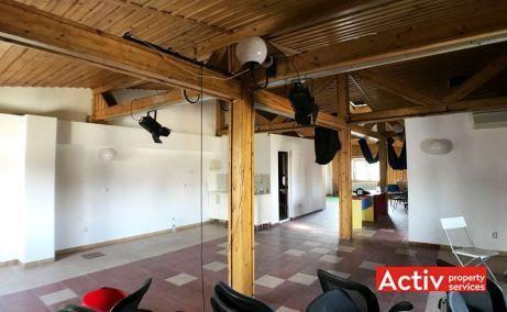 Vespasian 9 cladire de birouri de inchiriat Bucuresti central vedere spatiu interior