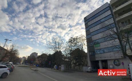Clucerului 35 vanzare spatii de birouri Bucuresti nord poza laterala