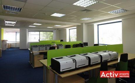 Clucerului 35 spatii de birouri Bucuresti nord vedere spatiu interior