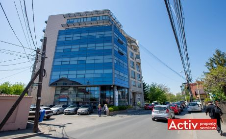 Gheorghe Titeica 121C cladire de birouri de inchiriat Bucuresti nord  poza laterala