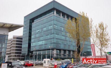 Cubic Center birouri de închiriat în București, vedere fațadă