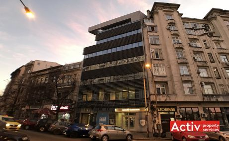 Academiei 29 spatii de birouri de inchiriat Bucuresti central imagine frontala
