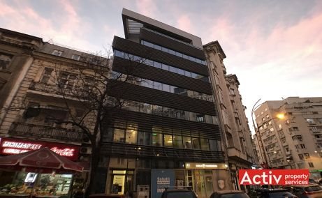 Academiei 29 spatii de birouri de inchiriat Bucuresti central poza frontala
