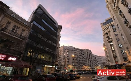 Academiei 29 birouri de inchiriat Bucuresti central imagine laterala