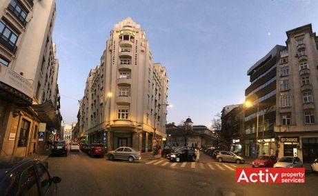 Academiei 29 spatii de birouri de inchiriat Bucuresti central imagine vecinatati