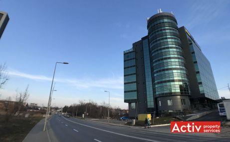 Construdava spatii de birouri de inchiriat Bucuresti nord imagine acces spre cladire