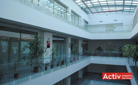 Construdava birouri de inchiriat Bucuresti nord vedere spatiu etaj