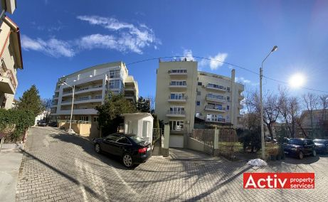 Ceasornicului 3-7 birouri de inchiriat Bucuresti nord panorama cladire